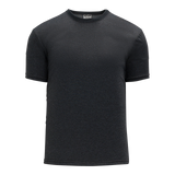 Athletic Knit (AK) BA1800M-021 Mens Heather Charcoal Grey Pullover Baseball Jersey