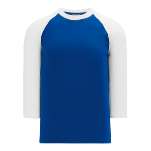Athletic Knit (AK) BA1846-206 Royal Blue/White Pullover Baseball Jersey