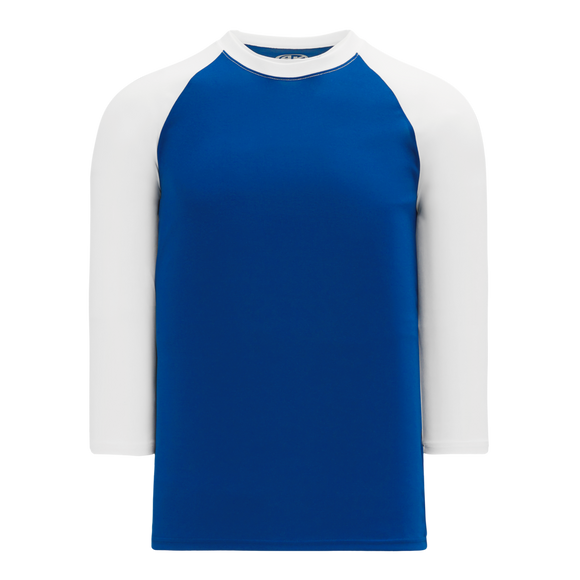 Athletic Knit (AK) BA1846Y-206 Youth Royal Blue/White Pullover Baseball Jersey