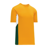 Athletic Knit (AK) S563 Gold/White/Dark Green Soccer Jersey