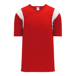Athletic Knit (AK) BW569-208 Red/White Basketball Warmup Shirt
