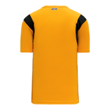 Athletic Knit (AK) S569 Gold/Black Soccer Jersey