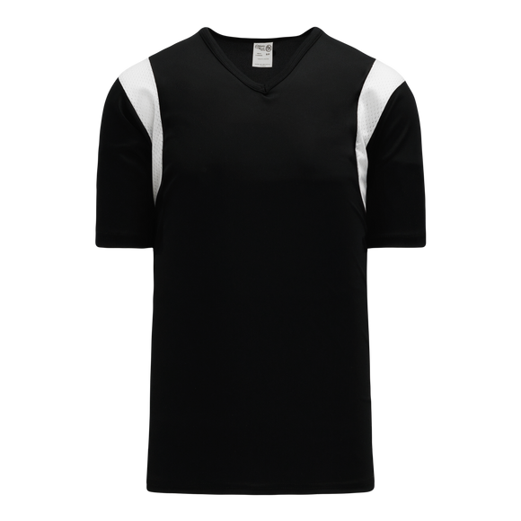 Athletic Knit (AK) S569 Black/White Soccer Jersey