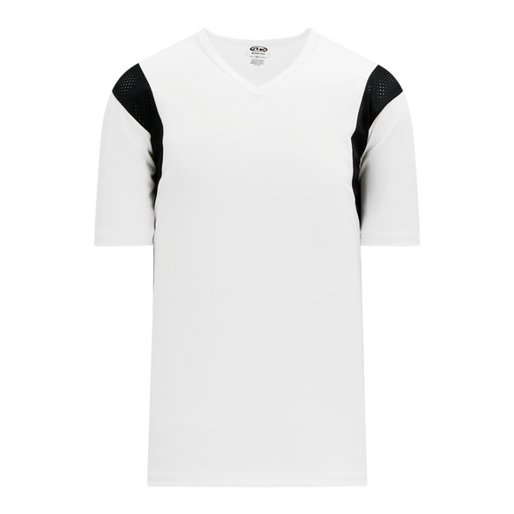 Athletic Knit (AK) S569 White/Black Soccer Jersey