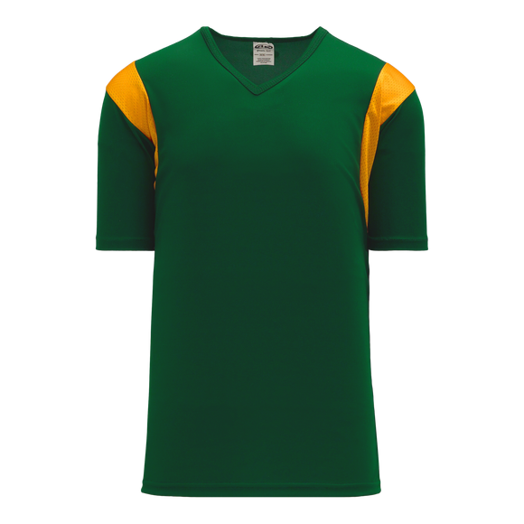 Athletic Knit (AK) V569-261 Dark Green/Gold Volleyball Jersey