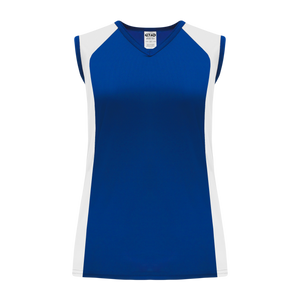 Athletic Knit (AK) LF601L-206 Ladies Royal Blue/White Field Lacrosse Jersey