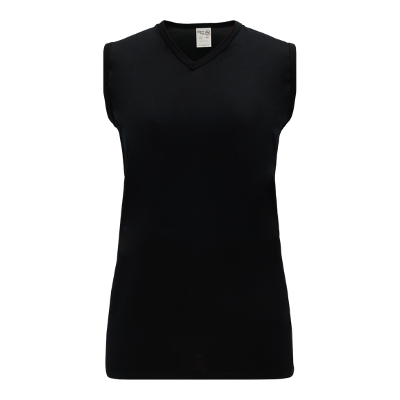 Athletic Knit (AK) V635L-001 Ladies Black Volleyball Jersey