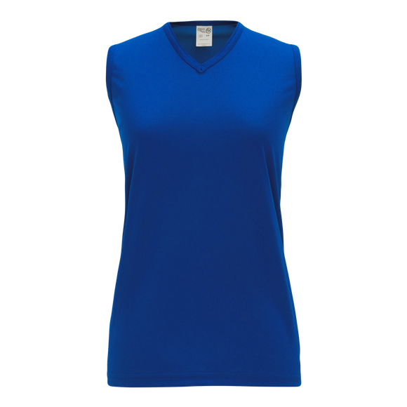 Athletic Knit (AK) V635L-002 Ladies Royal Blue Volleyball Jersey