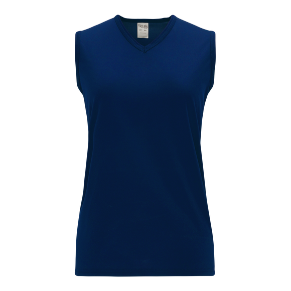 Athletic Knit (AK) V635L-004 Ladies Navy Volleyball Jersey