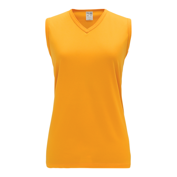 Athletic Knit (AK) V635L-006 Ladies Gold Volleyball Jersey