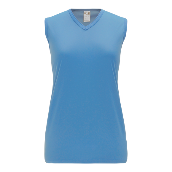 Athletic Knit (AK) V635L-018 Ladies Sky Blue Volleyball Jersey