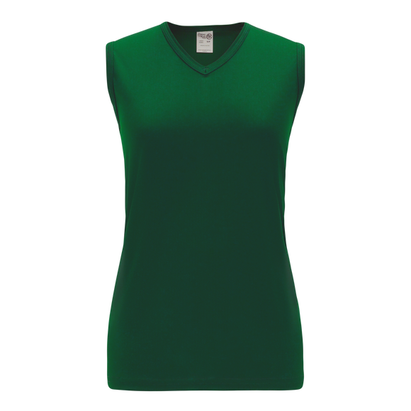 Athletic Knit (AK) V635L-029 Ladies Dark Green Volleyball Jersey