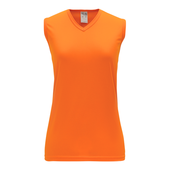 Athletic Knit (AK) V635L-064 Ladies Orange Volleyball Jersey