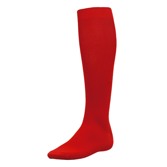 Athletic Knit (AK) BA90-005 Red Baseball Socks