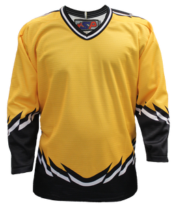 SP Apparel League Series Boston Bruins Third Gold Sublimated Hockey Jersey - PSH Sports
