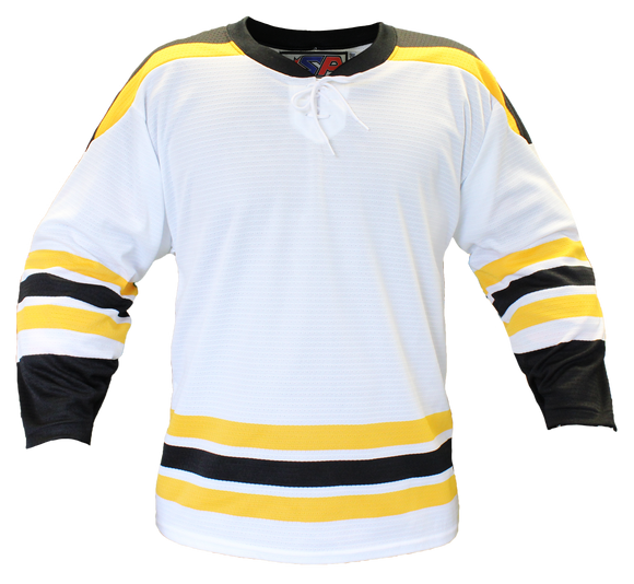 SP Apparel Evolution Series Boston Bruins White Hockey Jersey - PSH Sports