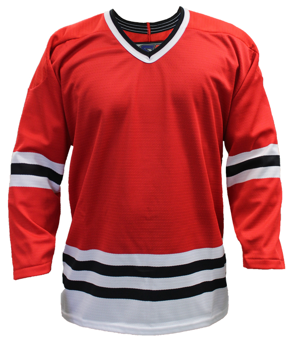 SP Apparel League Series Chicago Blackhawks Red Sublimated Hockey Jersey - PSH Sports