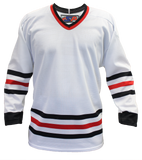SP Apparel League Series Chicago Blackhawks White Sublimated Hockey Jersey - PSH Sports