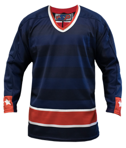 SP Apparel League Series Columbus Blue Jackets Sublimated Hockey Jersey