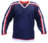 SP Apparel Evolution Series Columbus Blue Jackets Navy Hockey Jersey - PSH Sports