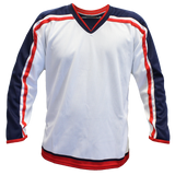 SP Apparel Evolution Series Columbus Blue Jackets White Hockey Jersey - PSH Sports
