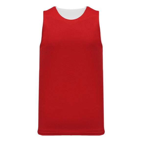 Athletic Knit (AK) BR1105-208 Red/White Reversible League Basketball Jersey
