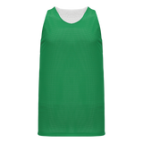 Athletic Knit (AK) BR1302-210 Kelly Green/White Reversible League Basketball Jersey