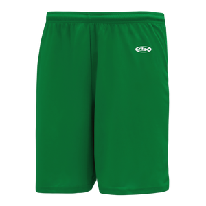 Athletic Knit (AK) BS1300-007 Kelly Green Basketball Shorts