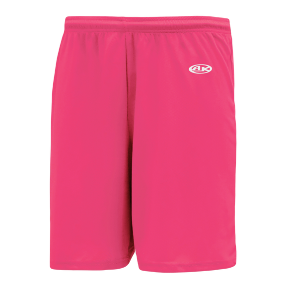 Athletic Knit (AK) BS1300 Pink Basketball Shorts