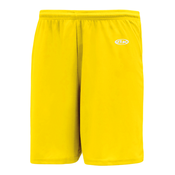 Athletic Knit (AK) BS1300 Maize Basketball Shorts