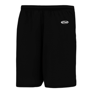 Athletic Knit (AK) BS1700 Black Basketball Shorts