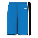 Athletic Knit (AK) BS1735-444 Pro Blue/Black/White Pro Basketball Shorts