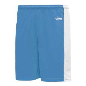 Athletic Knit (AK) BS9145-227 Sky Blue/White Pro Basketball Shorts