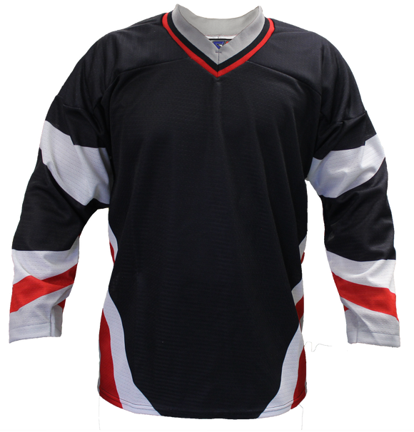 SP Apparel League Series Buffalo Sabres Black Sublimated Hockey Jersey - PSH Sports
