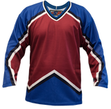 SP Apparel League Series Colorado Avalanche Burgundy Sublimated Hockey Jersey