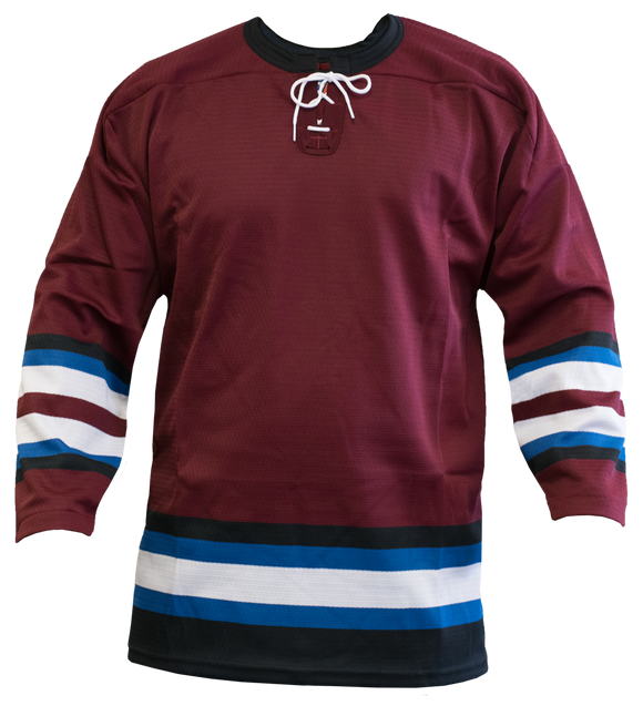 SP Apparel League Series Colorado Avalanche Third Sublimated Hockey Jersey