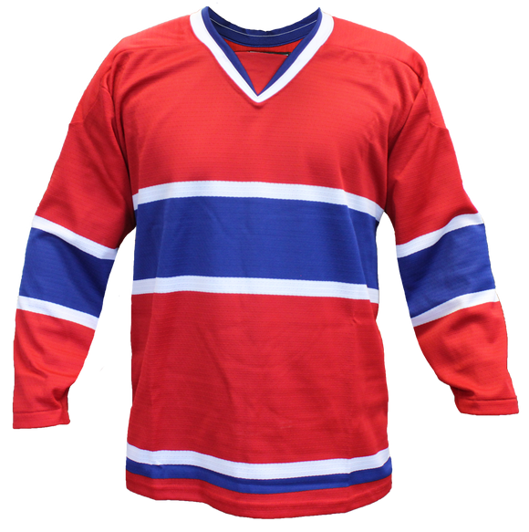 SP Apparel Evolution Series Montreal Canadiens Red Hockey Jersey - PSH Sports