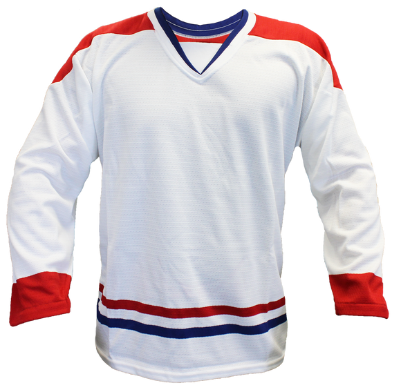 SP Apparel Evolution Series Montreal Canadiens White Hockey Jersey - PSH Sports