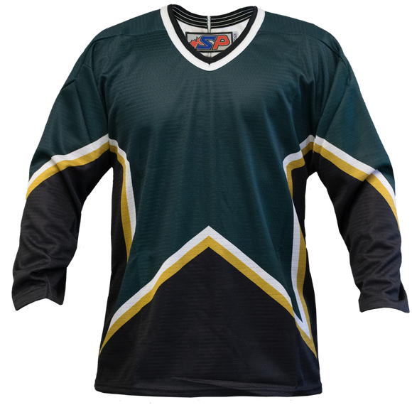 SP Apparel League Series Dallas Stars Forest Green Sublimated Hockey Jersey