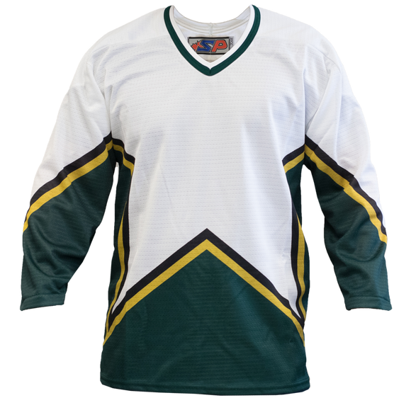 SP Apparel League Series Dallas Stars White Sublimated Hockey Jersey