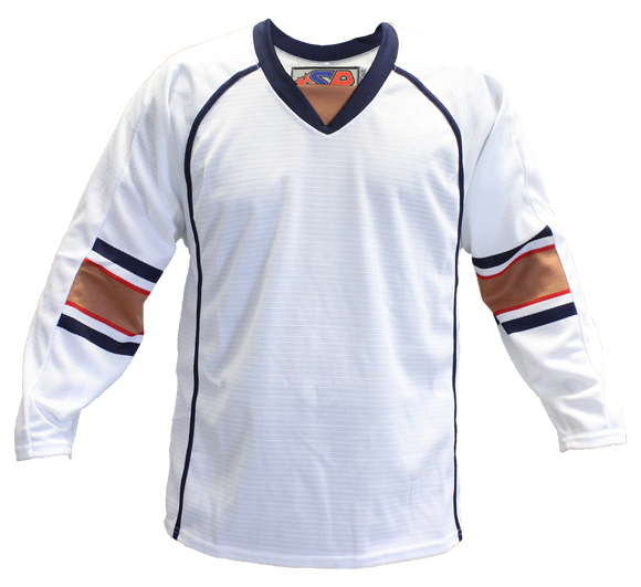 SP Apparel Evolution Series Edmonton Oilers White Hockey Jersey - PSH Sports