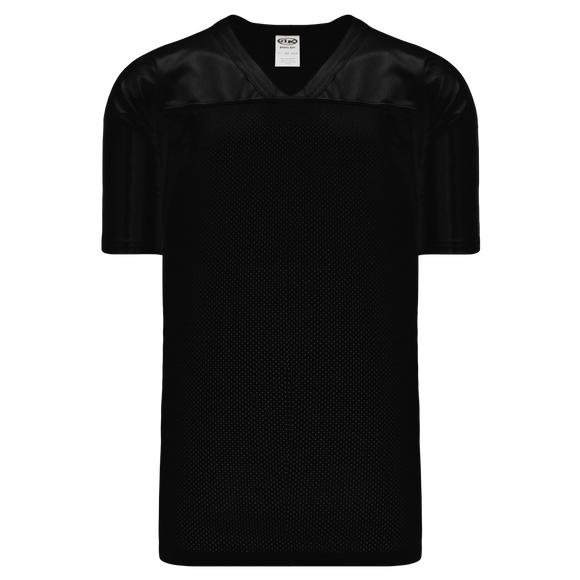 Athletic Knit (AK) F810 Black Pro Football Jersey