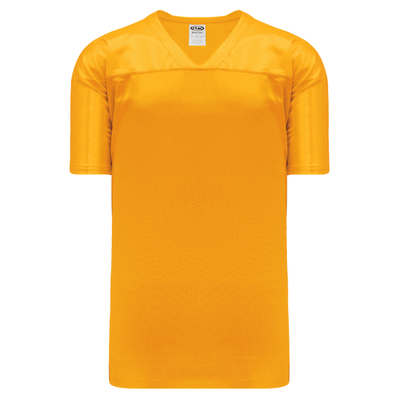 Athletic Knit (AK) F810-006 Gold Pro Football Jersey