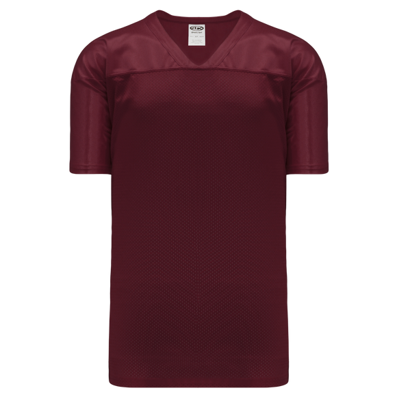 Athletic Knit (AK) F810 Maroon Pro Football Jersey