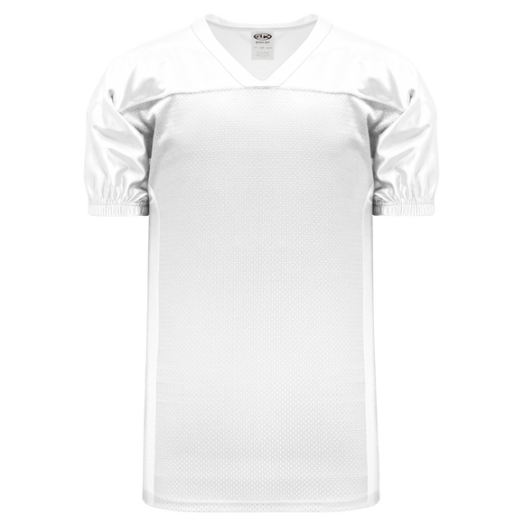 Athletic Knit (AK) F820 White Pro Football Jersey