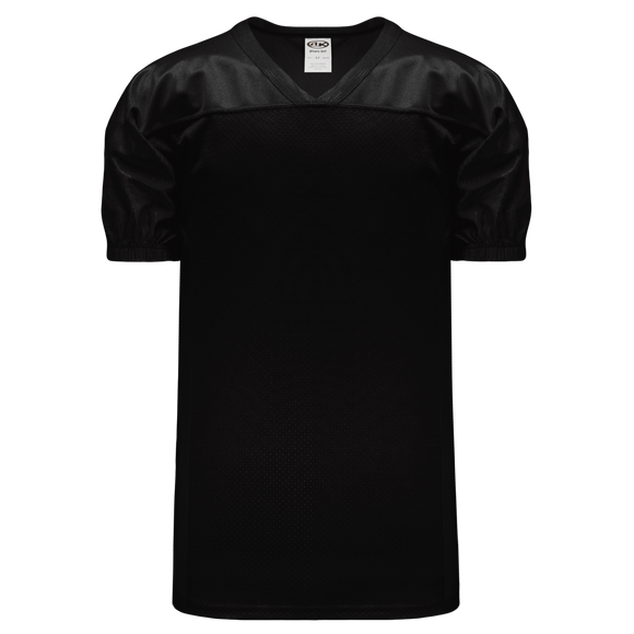 Athletic Knit (AK) F820 Black Pro Football Jersey