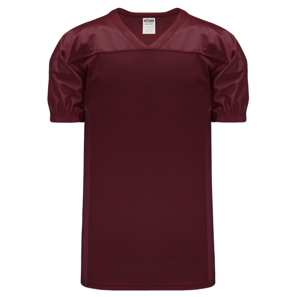 Athletic Knit (AK) F820 Maroon Pro Football Jersey