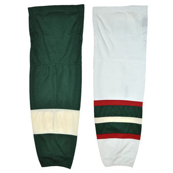 Firstar Stadium Pro Mesh Ice Hockey Socks - Minnesota Wild - PSH Sports