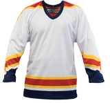 SP Apparel League Series Florida Panthers White Sublimated Hockey Jersey