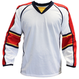 SP Apparel Evolution Series Florida Panthers White Sublimated Hockey Jersey - PSH Sports